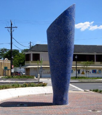 Roundabout Sculpture Sky copy