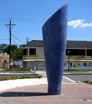 Roundabout Sculpture Sky