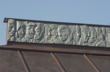 roundabout shelter detail